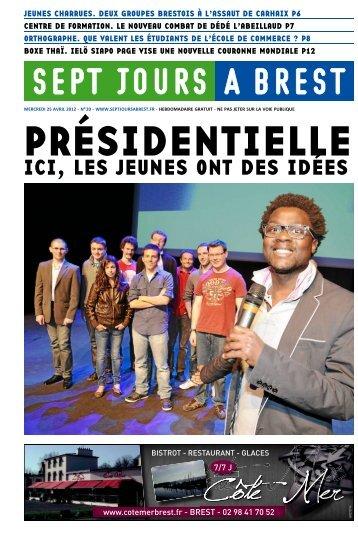 ICI, LES JEUNES ONT DES IDÉES - Sept jours à Brest