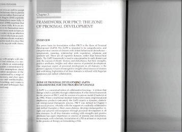 the zone of proximal development - Members.efn.org