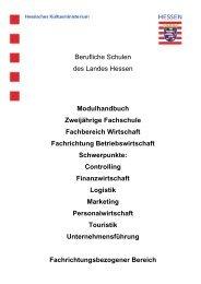 Zweijährige Fachschule Fachrichtung Betriebswirtschaft - Berufliche ...