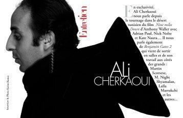 En exclusivité, Ali Cherkaoui nous parle depuis le tournage ... - AFAR