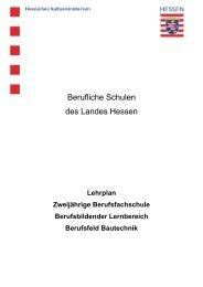 Berufsfeld Bautechnik - Berufliche Bildung in Hessen