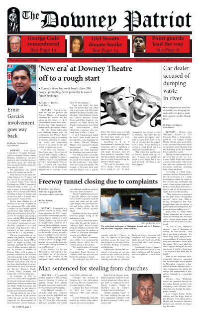 'New era' at Downey Theatre off to a rough start - Matchbin