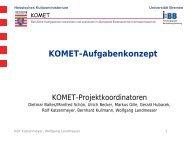 Landesfachtagung 2009 - Vortrag: Aufgabenkonzept - Berufliche ...