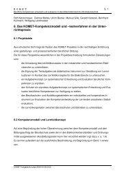 Das KOMET-Kompetenzmodell und - Berufliche Bildung in Hessen