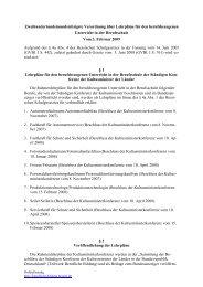 271. Verordnung über Lehrpläne für den berufsbezogenen ...
