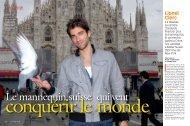 Lionel Clerc, le mannequin suisse qui veut ... - Quan Ly's website
