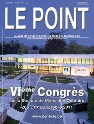 20 - 21 - 22 octobre 2011 - Société de médecine dentaire
