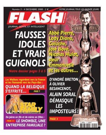 Abbé Pierre, Lady Diana, Coluche, José Bové, Nicolas Hulot, sœur ...