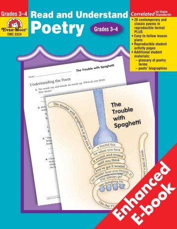 Grades 3–4 Read and Understand Poetry - TeacherWeb
