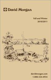 David Morgan Fall and Winter 2010/2011 Catalog - Who-sells-it.com