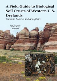 A Field Guide to Biological Soil Crusts of Western U.S. Drylands