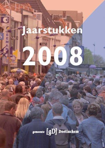 Jaarstukken 2008 - Bestuurlijke informatie van de gemeente ...