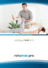 Catalogue kiné (PDF-11Mo) - REHAMAT