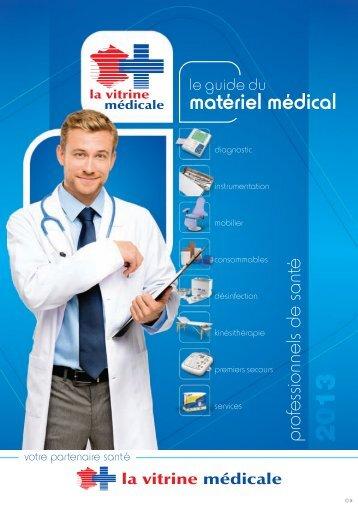 Guide du matériel médical 2013 Tome 1 - La Vitrine Médicale