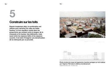 Construire sur les toits - Atelier International du Grand Paris
