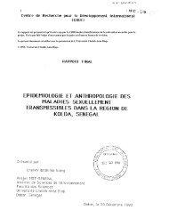 epidemiologie et anthropologie des maladies sexuellement ...