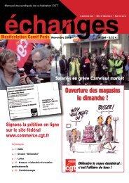 Echanges novembre 2008 - CGT Avenance Entreprises