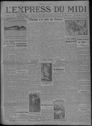 28 JUIN 1931 - Bibliothèque de Toulouse - Mairie de Toulouse