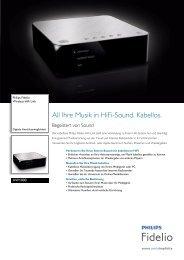 AW1000/10 Philips Wireless HiFi Link - Saturn