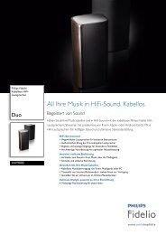 AW9000/10 Philips Kabellose HiFi-Lautsprecher - Saturn