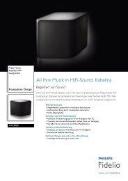 AW3000/10 Philips Kabellose HiFi-Lautsprecher - Saturn