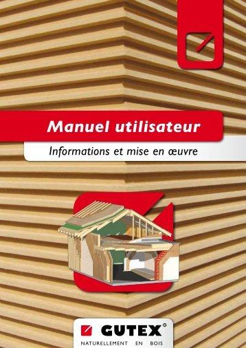 Manuel utilisateur - Gutex