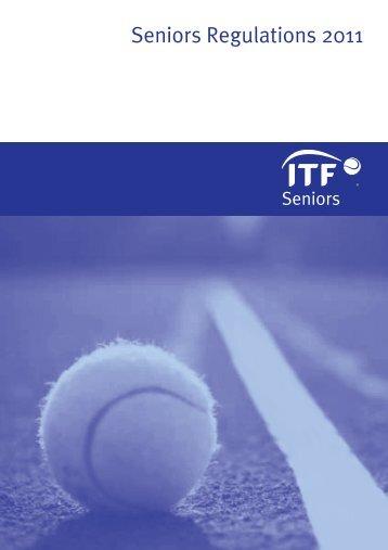 Seniors Regulations 2011 - ITF