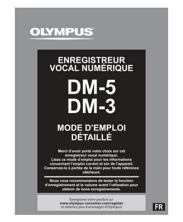 DM-5 DM-3 - Olympus