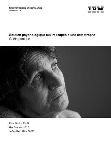 Soutien psychologique aux rescapés d'une ... - Dadeschools.net