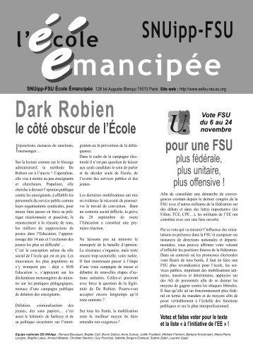 4p EE SNUipp-FSU avril 2006 - L'École Émancipée