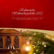 Preis pro Person 23 00 - Schlosshotel Klink