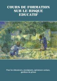 COURS DE FORMATION SUR LE RISQUE EDUCATIF - Avsi