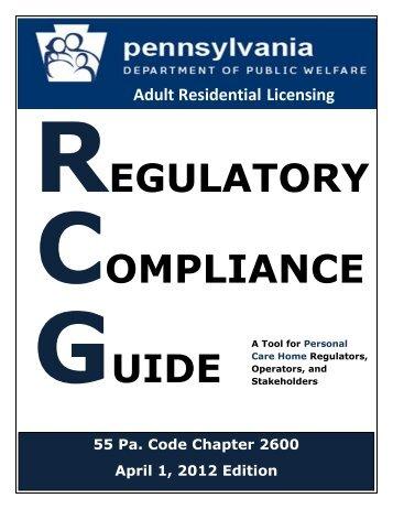 REGULATORY COMPLIANCE GUIDE - Asoundstrategy