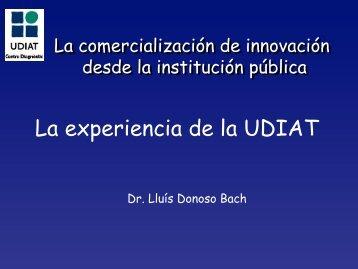 La experiencia de la UDIAT - Red ITEMAS