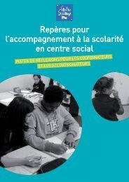 Repères pour l'accompagnement à la scolarité en centre social