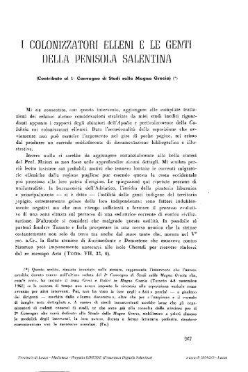 ZG1962_colonizzatori_elleni_penisola salentina (I ... - culturaservizi.it