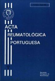1984 Volume IX, 1, 1º Trimestre - Acta Reumatológica Portuguesa