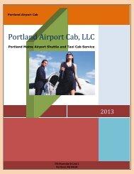 Portland Airport Cab, LLC