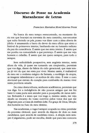 Francisco Marialva Mont'Alverne Frota - Ceara.pro.br