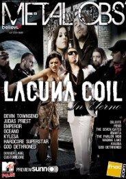 Metal Obs' numéro 30 - mai 2009 - GRATUIT - Noiseweb