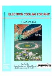 I. Ben-Zvi, BNL - BETACOOL home page