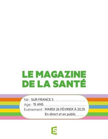 Télécharger le dossier de presse - France 5