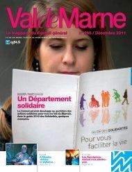 ValdeMarne n°285 / Décembre 2011 - Conseil général du Val-de ...