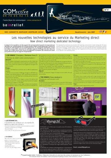 Les nouvelles technologies au service du Marketing ... - COMACTIVE
