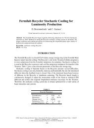 Fermilab Recycler Stochastic Cooling for Luminosity Production