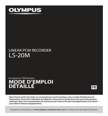 LS-20M - Olympus America