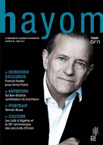 Hayom46 - Communauté Israélite Libérale de Genève
