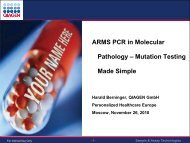 Arms pcr in molecular pathology