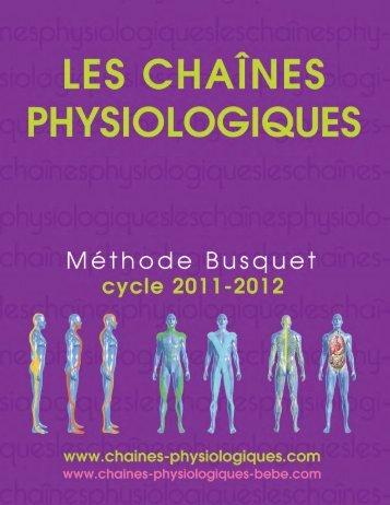 méthode busquet - Académie d'ostéopathie de Montréal