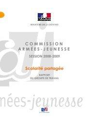 Scolarité partagée - Ministère de la Défense